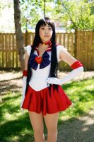 JellyCon 2014 Sailor Mars by Lightning--Baron