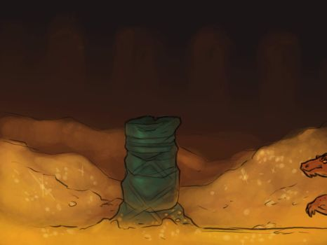 Smaug Bounce ANIMATION by AnnieHyena