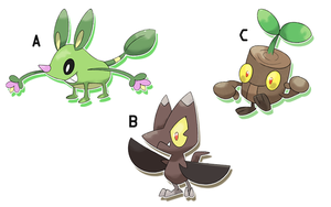 Fakemon Auction by SteveO126