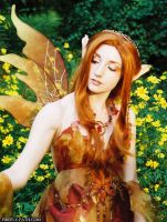 Autumn Fairy by Lillyxandra