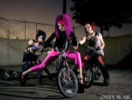 Catties biker gang shoot 3 by KissTheMastersFeet