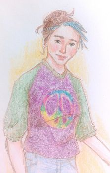 Hippie Girl by mjOboe