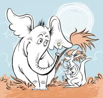 Horton Hears a Who by liliesformary