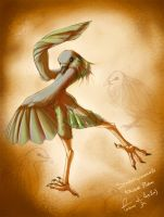 Feather Dance by Foshu