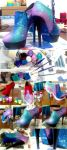SPACED OUT #DIY Shoes TUTORIAL by maq4ka