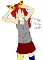 I Am The Pizza Lord by CrownClown2014
