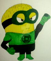 Green Lantern Minion by InkArtWriter