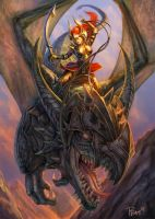 Dragon Rider by PTimm