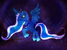 Patrolling at night by AquaAngel1010