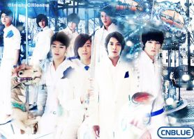 CNblue wallpaper1 by freakyCHIonew
