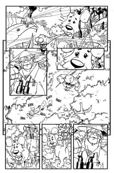 Mandi #1 page #2 lineart by SURFACEART