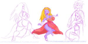 Jynx Scetch by weasselK