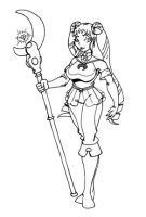 Cleric Of The Moon Usagi by CrazyCowProductions