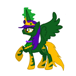 Mardigrasqueen13 ponified by mardigrasprincess