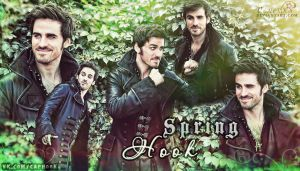 Captain Hook/ Killian Jones wallpapers spring by Venerka