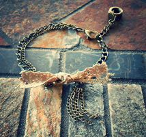 Steampunk Wendy Bracelet by random-wish