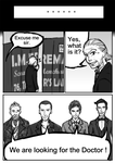 If 9th Doctor were in the 50th anniversary P6 by GaryLight