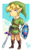 Link -Skyward Sword- by LazyTurtle