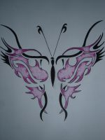 Tribal Butterfly by aalleeexx