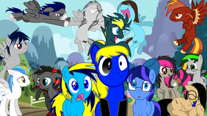 Group Wallpaper #1 by HeartfireBurn