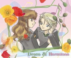 Dramione Flowerframe by hacques
