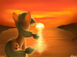 Sunset by Adina1oo