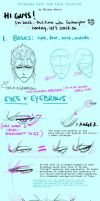 Grimmjow Tutorial by bisous-noirs