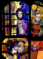 Gamzee and Tavros- Some Nights and Other Days by BlueNightGiGi