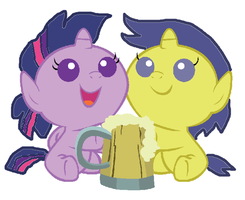 Twilight and Comet Drink Cider by 3D4D