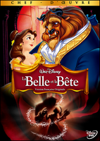 Beauty and the Beast French DVD Cover by alexanderbim
