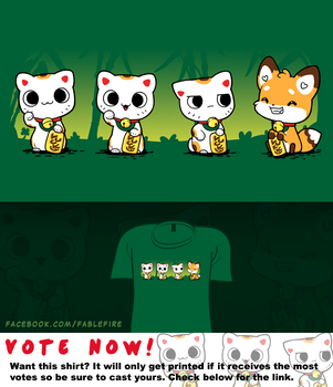 Woot Shirt - Luck Luck Ruse by fablefire