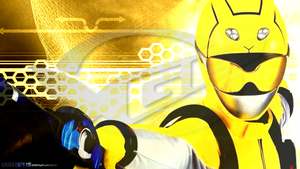 Tokumei Sentai Go-Busters: Yellow Buster REVAMPED by OOO19415