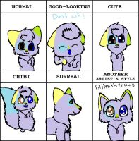 Style Meme! by puppyhowler