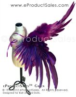 eProductSales purple GWEN BJD Wings by eProductSales