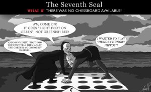 what if - seventh seal by kaffepanna
