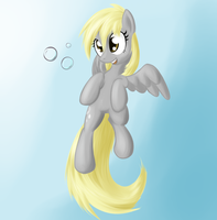 Derpy (coloured) by Sokolas
