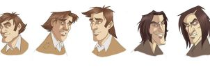 Lupin and Snape researches by kyla79