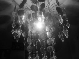 Chandelier Black and White by Kandyfloss30a
