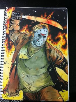 It's Jason ! by CBrownDESIGNS