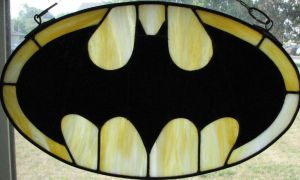 Batman Symbol Stained Glass Number 3 by AutobotWonko