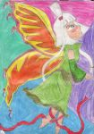Cherry: Butterfly by Halowing