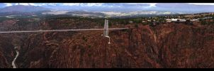 Royal Gorge Panorama by CaspersCreations