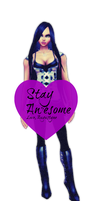 Stay Awesome from IMVU by Augustyne