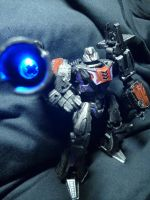 War for Cybertron Megatron Custom Repaint by Kurenai-Misuzu