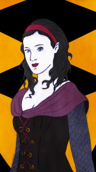 Lady Marian of Knighton by eugeal