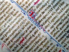 13th Century Manuscript 03 by barefootliam-stock