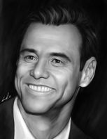 Jim Carrey by fishboo