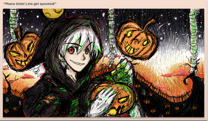 DP Halloween iScribble Collab :D by mimidan