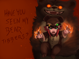 RAWR I AM TIBBERS by Butterfly-Kitsune