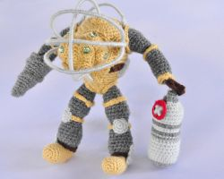 Bioshock Big Daddy Crochet by AmiAmiLuLu
